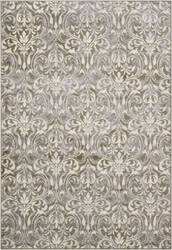 Nourison Nova No118 Grey Area Rug