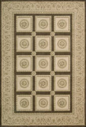 Nourison Newport NW-06 Chocolate Area Rug