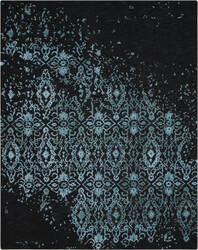 Nourison Opaline Opa06 Midnight Blue Area Rug