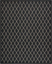 Nourison Outerbanks Roank Black Pearl Area Rug