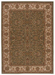 Nourison Persian Crown Pc003 Green Area Rug