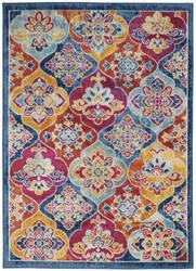 Nourison Persian Vintage Prv06 Multicolor Area Rug