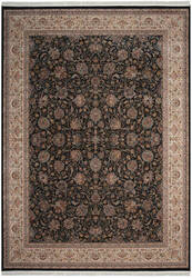 Nourison Persian Palace Ppl03 Navy Area Rug