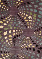Nourison Parallels PR-23 Lavender Area Rug