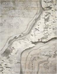 Nourison Prismatic Prs05 Silver Cloud Area Rug