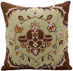 Kathy Ireland Pillows Q1002 Pistachio