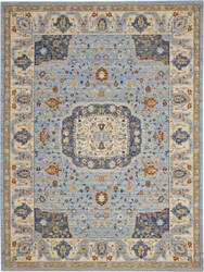 Nourison Majestic Mst03 Light Blue Area Rug