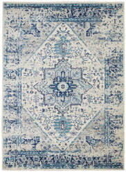 Nourison Tranquil Tra06 Ivory - Light Blue Area Rug