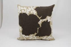 Nourison Mina Victory Pillows Felt R4109 Beige - Brown