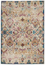 Nourison Radiant Rad01 Ivory - Multicolor Area Rug