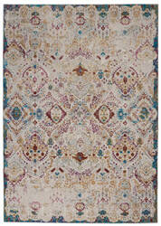 Nourison Radiant Rad01 Light Grey - Multicolor Area Rug