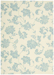 Nourison Home and Garden RS-014 Ivory Area Rug