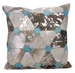 Nourison Mina Victory Pillows S6100 Grey Silver