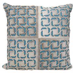 Nourison Mina Victory Pillows S6108 Grey