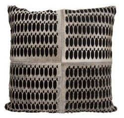 Nourison Mina Victory Pillows S6112 Grey Black