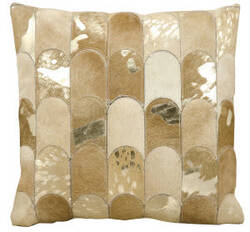 Kathy Ireland Pillows S6275 Beige Gold