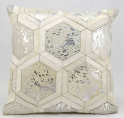Michael Amini Pillows S6280 White Silver
