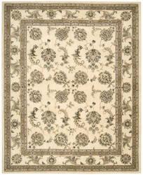 Nourison Silk Touch Sch02 Ivory Area Rug