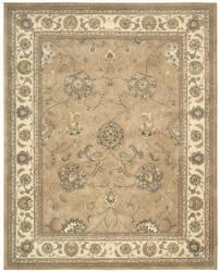 Nourison Silk Touch Sch03 Camel Area Rug