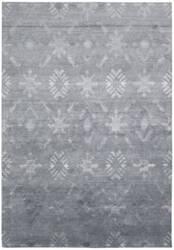 Nourison Silk Shadows Sha05 Blue Area Rug