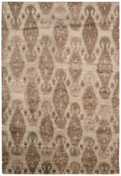 Nourison Silk Shadows Sha08 Sand Area Rug