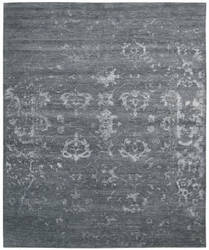 Nourison Silk Shadows Sha15 Blue Stone Area Rug