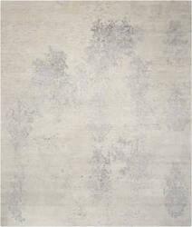 Nourison Silk Shadows Sha14 Ivory - Silver Area Rug