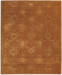 Nourison Silk Infusion Sif01 Copper Area Rug