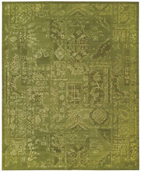 Nourison Silk Infusion Sif02 Green Area Rug