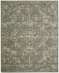 Nourison Silk Elements Ske30 Azure Area Rug