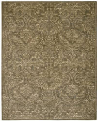 Nourison Silken Allure Slk19 Chocolate Area Rug