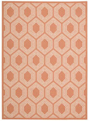 Nourison Wav01-Sun And Shade Snd26 Tangerine Area Rug
