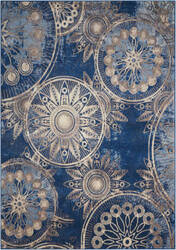 Nourison Somerset St764 Denim Area Rug