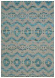 Nourison Spectrum Spe01 Turquoise Grey Area Rug