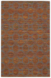Nourison Spectrum Spe03 Flame Grey Area Rug