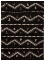 Nourison Tangier Tan04 Black Area Rug