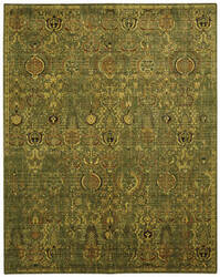Nourison Timeless Tml11 Green Gold Area Rug