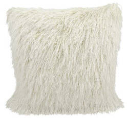 Nourison Shag Pillow Tr008 Cream