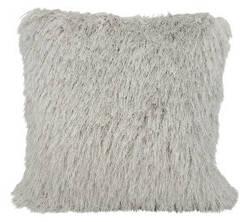 Nourison Shag Pillow Tr008 Light Grey