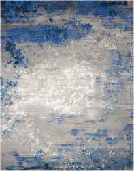 Nourison Twilight Twi22 Blue - Grey Area Rug