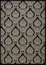 Nourison Ultima Ul513 Black Gray Area Rug