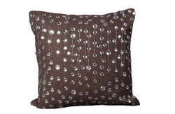Nourison Pillows Luminescence V4055 Brown