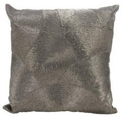 Nourison Luminescence Pillow V5023 Pewter