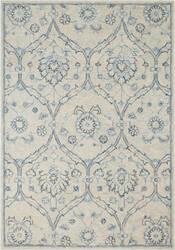 Nourison Jazmin Jaz03 Ivory - Blue Area Rug