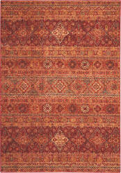 Nourison Jewel Jel03 Brick Area Rug