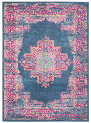 Nourison Passion Psn03 Blue Area Rug