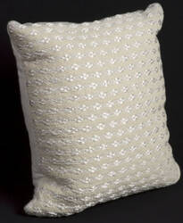 Nourison Pillows Woven Luster Vc304 Silver