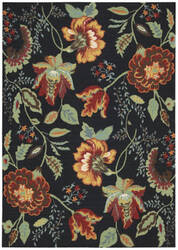 Nourison Vista VIS-51 Black Area Rug