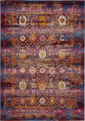 Nourison Vintage Kashan Vka03 Red - Multicolor Area Rug