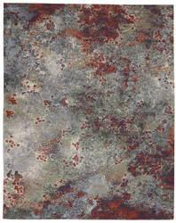 Nourison Artworks Atw02 Seafoam - Brick Area Rug